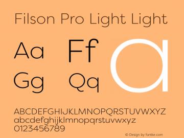 Filson Pro Light