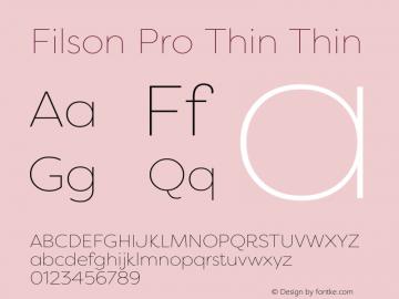 Filson Pro Thin