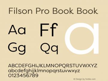 Filson Pro Book
