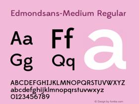 Edmondsans-Medium
