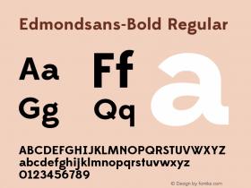 Edmondsans-Bold