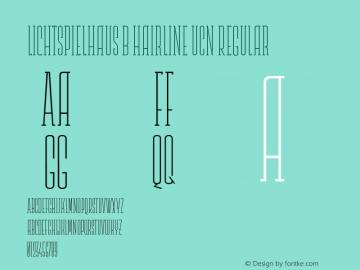 Lichtspielhaus b Hairline UCn