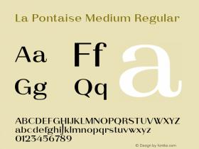 La Pontaise Medium