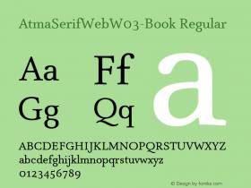 AtmaSerifWeb-Book
