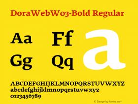 DoraWeb-Bold
