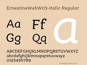 ErnestineWeb-Italic