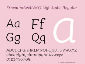 ErnestineWeb-LightItalic
