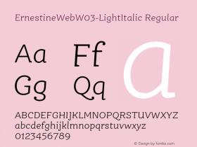 ErnestineWeb-LightItalic