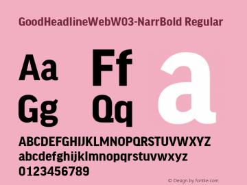 GoodHeadlineWeb-NarrBold