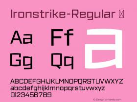 Ironstrike-Regular