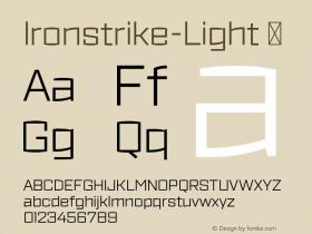 Ironstrike-Light