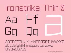 Ironstrike-Thin
