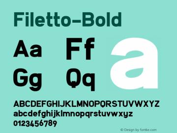 Filetto-Bold