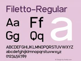 Filetto-Regular