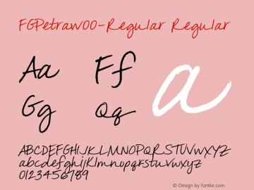 FGPetra-Regular