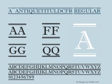 a_AntiqueTitulDcFr