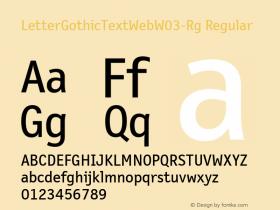 LetterGothicTextWeb-Rg