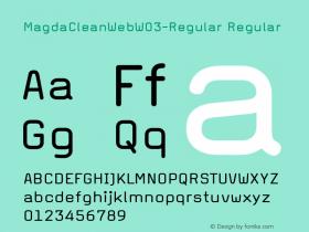 MagdaCleanWeb-Regular