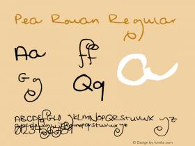 Pea Rowan