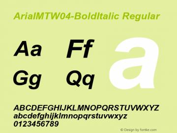 ArialMT-BoldItalic
