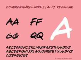 CCMikeKunkel-Italic