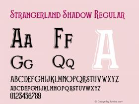 Strangerland Shadow