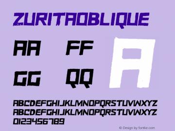 ZURITAOblique