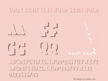 Look Serif Line Bold