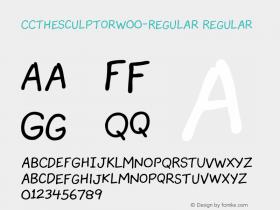 CCTheSculptor-Regular