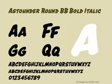 Astounder Round BB