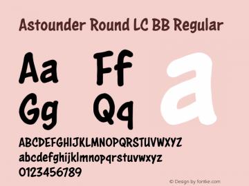 Astounder Round LC BB