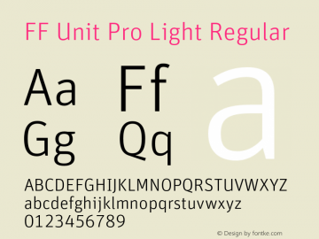FF Unit Pro Light