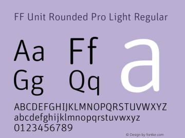 FF Unit Rounded Pro Light