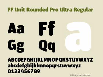 FF Unit Rounded Pro Ultra