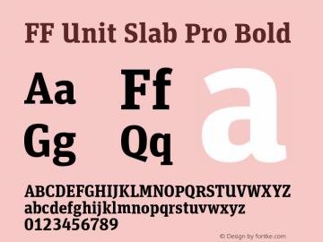 FF Unit Slab Pro