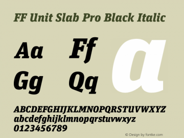 FF Unit Slab Pro Black
