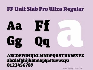FF Unit Slab Pro Ultra