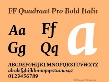 FF Quadraat Pro