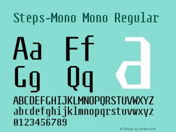 Steps-Mono Mono