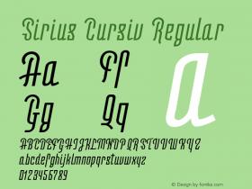 Sirius Cursiv