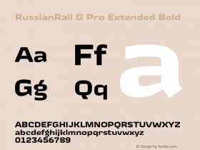 RussianRail G Pro Extended