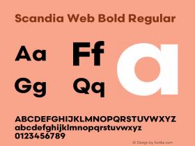 Scandia Web Bold
