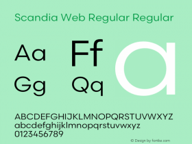 Scandia Web Regular