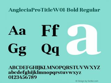 AngleciaProTitle-Bold