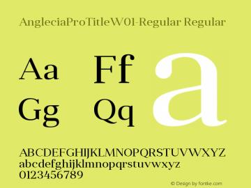 AngleciaProTitle-Regular