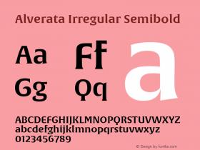 Alverata Irregular