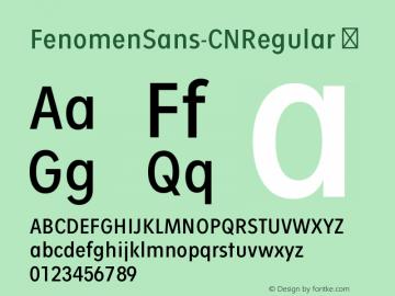FenomenSans-CNRegular