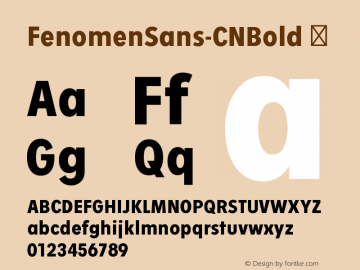 FenomenSans-CNBold
