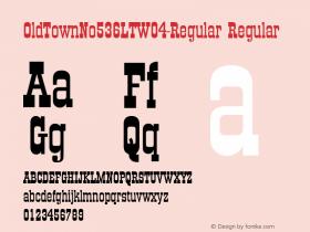 OldTownNo536LT-Regular