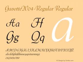 Gavotte-Regular